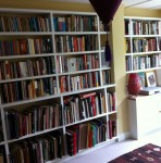 Bookshelves and cupboards