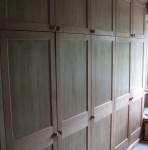 Wardrobes with top boxes
